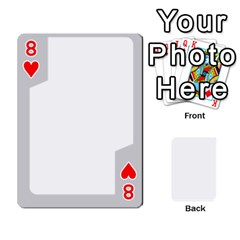 Sliver Border By Wood Johnson   Playing Cards 54 Designs   Eab1ptdxrzan   Www Artscow Com Front - Heart8