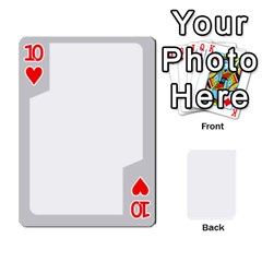Sliver Border By Wood Johnson   Playing Cards 54 Designs   Eab1ptdxrzan   Www Artscow Com Front - Heart10