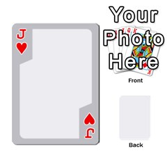 Jack Sliver Border By Wood Johnson   Playing Cards 54 Designs   Eab1ptdxrzan   Www Artscow Com Front - HeartJ