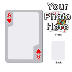Ace Sliver Border By Wood Johnson   Playing Cards 54 Designs   Eab1ptdxrzan   Www Artscow Com Front - HeartA