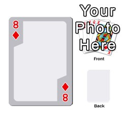 Sliver Border By Wood Johnson   Playing Cards 54 Designs   Eab1ptdxrzan   Www Artscow Com Front - Diamond8