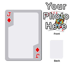 Jack Sliver Border By Wood Johnson   Playing Cards 54 Designs   Eab1ptdxrzan   Www Artscow Com Front - DiamondJ