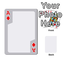 Ace Sliver Border By Wood Johnson   Playing Cards 54 Designs   Eab1ptdxrzan   Www Artscow Com Front - DiamondA