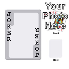 Sliver Border By Wood Johnson   Playing Cards 54 Designs   Eab1ptdxrzan   Www Artscow Com Front - Joker1