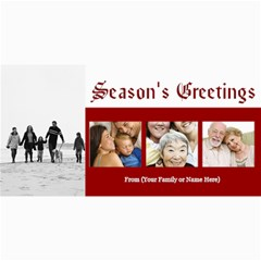 Christmas & Holiday Photo Cards Assortment By Angela   4  X 8  Photo Cards   X7e62cy2om0s   Www Artscow Com 8 x4 Photo Card - 2