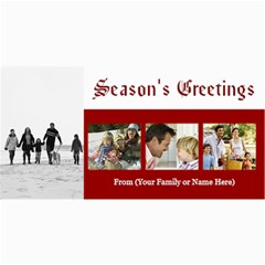 Christmas & Holiday Photo Cards Assortment By Angela   4  X 8  Photo Cards   X7e62cy2om0s   Www Artscow Com 8 x4 Photo Card - 7