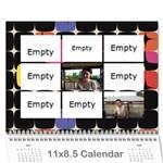 Family Calendar 2010 - Wall Calendar 11  x 8.5  (12-Months)