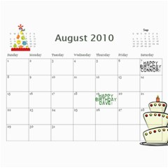 Family Calendar 2010 By Jem   Wall Calendar 11  X 8 5  (12 Months)   Zi0egdxtqocs   Www Artscow Com Aug 2010