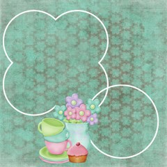 Tea Party Scrapbook Pages 12  X 12     Set Of 12 By Sooze   Scrapbook Page 12  X 12    Zhg0qxux16zw   Www Artscow Com 12 x12 Scrapbook Page - 7