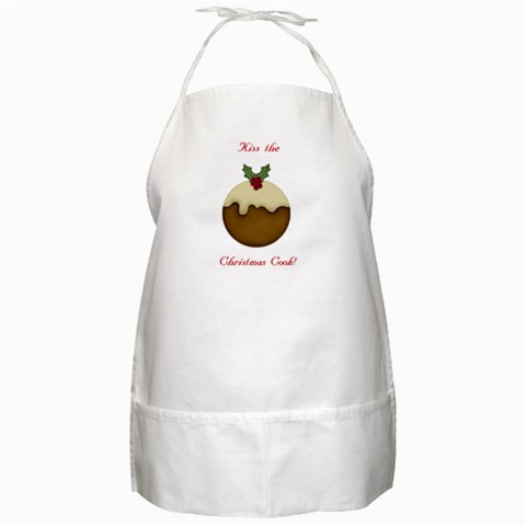 Christmas Apron By Sooze   Bbq Apron   X44wz4a223y9   Www Artscow Com Front