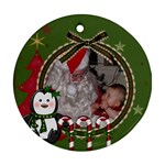 ashlynxmasgood - Ornament (Round)
