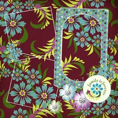 Bliss Pages, 10 Quick Pages By Mikki   Scrapbook Page 12  X 12    G1f84y1jjge3   Www Artscow Com 12 x12 Scrapbook Page - 1