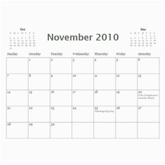 Calendario Mama By Yaline   Wall Calendar 11  X 8 5  (12 Months)   Xd6voptezhnm   Www Artscow Com Nov 2010