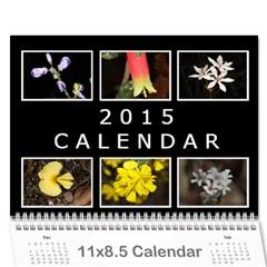 2015 Basic Black & White Calendar By Mim   Wall Calendar 11  X 8 5  (12 Months)   M0xv6gotpvs6   Www Artscow Com Cover