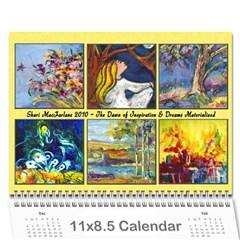Sharimac Calendar By Alana   Wall Calendar 11  X 8 5  (12 Months)   9w4kgvhdibnx   Www Artscow Com Cover