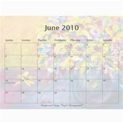 Sharimac Calendar By Alana   Wall Calendar 11  X 8 5  (12 Months)   9w4kgvhdibnx   Www Artscow Com Jun 2010