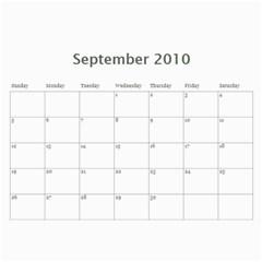 Album Iuri By Vivis   Wall Calendar 11  X 8 5  (12 Months)   Jmt6cnropxnf   Www Artscow Com Sep 2010