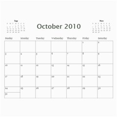 Album Iuri By Vivis   Wall Calendar 11  X 8 5  (12 Months)   Jmt6cnropxnf   Www Artscow Com Oct 2010
