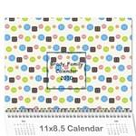 Brady Calendar - Wall Calendar 11  x 8.5  (12-Months)