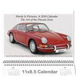 CalProj - Wall Calendar 11  x 8.5  (12-Months)