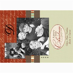 Christmas Again By Hope   5  X 7  Photo Cards   Ohg6ugt08m32   Www Artscow Com 7 x5 Photo Card - 5