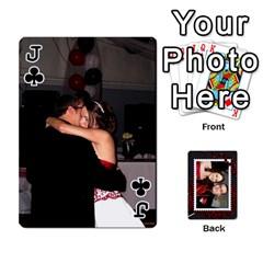 Jack Josh Wedding By Sherri   Playing Cards 54 Designs   4lzlfyo8mov7   Www Artscow Com Front - ClubJ