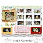 Lich 2010 - Wall Calendar 11  x 8.5  (12-Months)