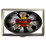 Oval-Black-Mind_-Body-and-Soul-Tattoo-Belt-Buckle Cigarette Money Case