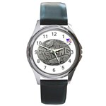 lark57 Round Metal Watch