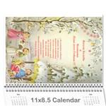 календар 12 - Wall Calendar 11  x 8.5  (12-Months)