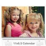 calendar 09 - Wall Calendar 11  x 8.5  (12-Months)