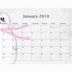 Calendar 09 By Nicki   Wall Calendar 11  X 8 5  (12 Months)   Qk0qmw7xwqkc   Www Artscow Com Jan 2010