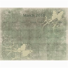 Calendar 09 By Nicki   Wall Calendar 11  X 8 5  (12 Months)   Qk0qmw7xwqkc   Www Artscow Com Mar 2010