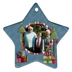 Holidays Are Comin star Ornament Www Catdesignz Com By Catvinnat   Star Ornament (two Sides)   A3jhh1vddatq   Www Artscow Com Front