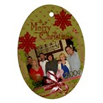 Bayless Family Chris. 2009 - Ornament (Oval)