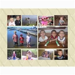 Xmas Calendar By Jackie Flynn   Wall Calendar 11  X 8 5  (18 Months)   K0z5q4muto2i   Www Artscow Com Month