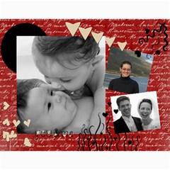 Christmas Family Calendar By Tara Peckham   Wall Calendar 11  X 8 5  (12 Months)   Qoc0dmvzwbyu   Www Artscow Com Month