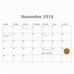 Momcalender By Blair Hill   Wall Calendar 11  X 8 5  (12 Months)   Hapaa89kbric   Www Artscow Com Nov 2010