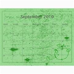 Calendar 2010 By Charlie Berry   Wall Calendar 11  X 8 5  (12 Months)   Ipxyclysxo1i   Www Artscow Com Sep 2010