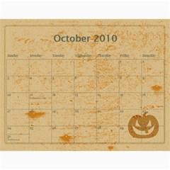 Calendar 2010 By Charlie Berry   Wall Calendar 11  X 8 5  (12 Months)   Ipxyclysxo1i   Www Artscow Com Oct 2010
