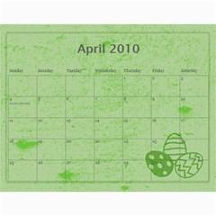 Calendar 2010 By Charlie Berry   Wall Calendar 11  X 8 5  (12 Months)   Ipxyclysxo1i   Www Artscow Com Apr 2010