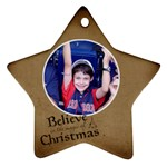 Ornament Lucas - Star Ornament (Two Sides)