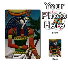 Pharaohs & Scribes Deck 1 By Matthew Marquand   Multi Purpose Cards (rectangle)   0qkw5mpt5es1   Www Artscow Com Back 52