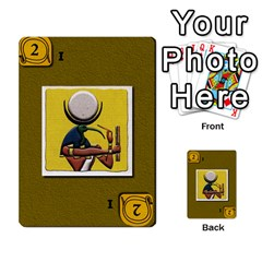 Pharaohs & Scribes Deck 1 By Matthew Marquand   Multi Purpose Cards (rectangle)   0qkw5mpt5es1   Www Artscow Com Front 54
