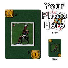 Pharaohs & Scribes Deck 1 By Matthew Marquand   Multi Purpose Cards (rectangle)   0qkw5mpt5es1   Www Artscow Com Front 43