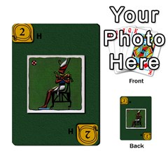 Pharaohs & Scribes Deck 1 By Matthew Marquand   Multi Purpose Cards (rectangle)   0qkw5mpt5es1   Www Artscow Com Front 44