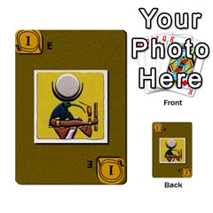Pharaohs & Scribes Deck 1 By Matthew Marquand   Multi Purpose Cards (rectangle)   0qkw5mpt5es1   Www Artscow Com Front 50