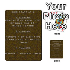 Pharaohs & Scribes Deck 2 By Matthew Marquand   Multi Purpose Cards (rectangle)   Dthok6lmn7rs   Www Artscow Com Front 39