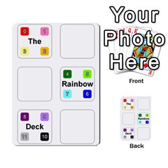 Rainbow Deck 3 By Changcai   Playing Cards 54 Designs   71erkg3vrbbw   Www Artscow Com Back