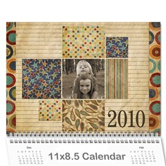 Calendar 2010 By Marina Tang   Wall Calendar 11  X 8 5  (12 Months)   8plgli7y8zd6   Www Artscow Com Cover